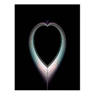 Eclipsed Heart Postcard