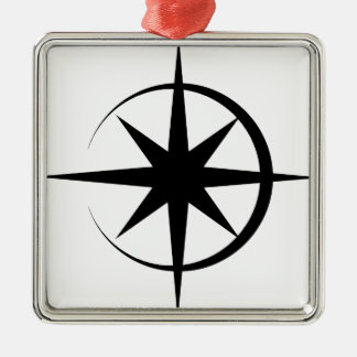 Eclipsed Star Metal Ornament