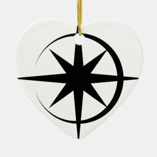 Eclipsed Star Christmas Tree Ornament