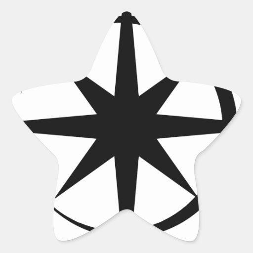 Eclipsed Star Star Sticker
