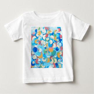 Eclipses parciales coloridos (cubismo circular) camisetas