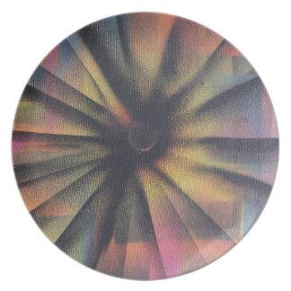 Eclipsing Melamine Plate