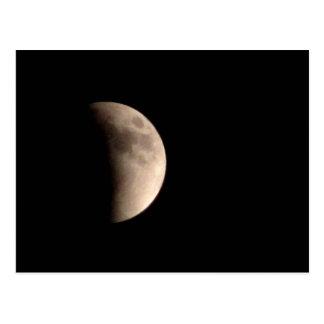 Eclipsing Moon Postcard