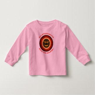Ecliptomaniacs Long Sleeve Tee-pink Toddler T-shirt