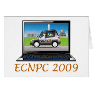 ECNPC 2009 notecard