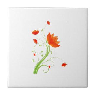 eco abstracto anaranjado graphic.png de la flor teja  ceramica