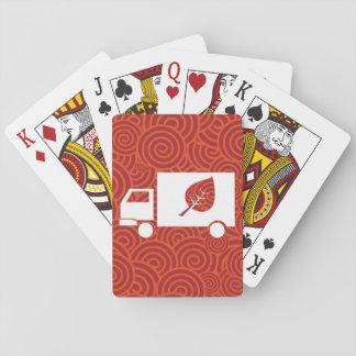 Eco acarrea el gráfico cartas de juego