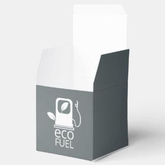 Eco aprovisiona de combustible símbolo caja para regalos de fiestas