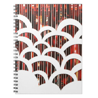 Eco Art Red Scallop Notebook