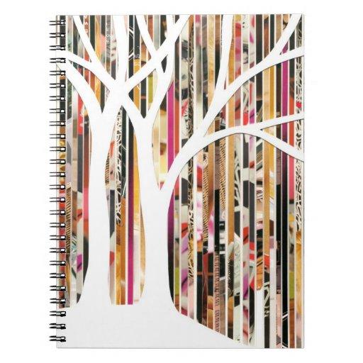 Eco Art Tree Mixed Media Notebook