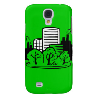 Eco buildings environment galaxy s4 cover
