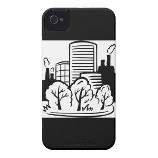 Eco buildings environment iPhone 4 case