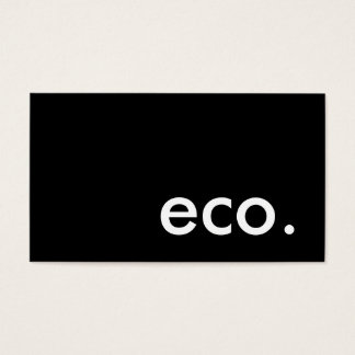 eco. business card