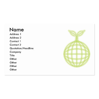 ECO Double-Sided STANDARD BUSINESS CARDS (Pack OF 100)