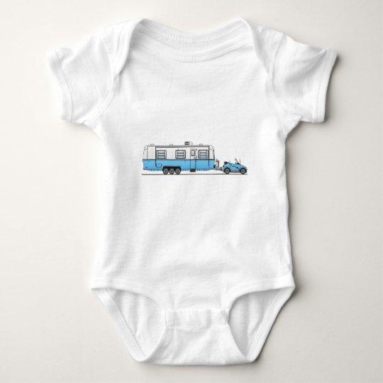 Eco Car Camper Baby Bodysuit