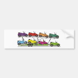 Eco Car Carrier Bumper Sticker