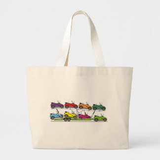 Eco Car Carrier Large Tote Bag