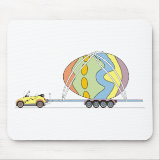 Eco Car Easter Mouse Pad