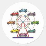 Eco Car Ferris Wheel Sticker