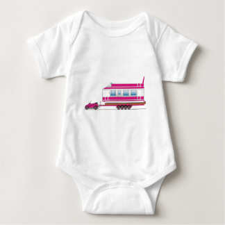 Eco Car House Boat Baby Bodysuit