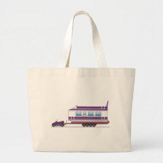 Eco Car House Boat Jumbo Tote Bag
