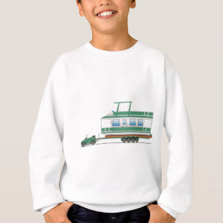 Eco Car House Boat Sweatshirt