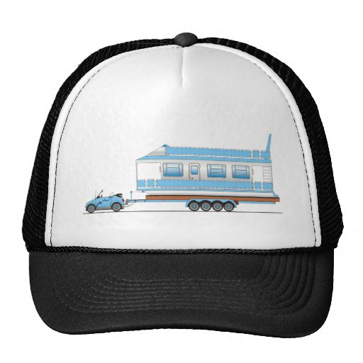 Eco Car House Boat Trucker Hat