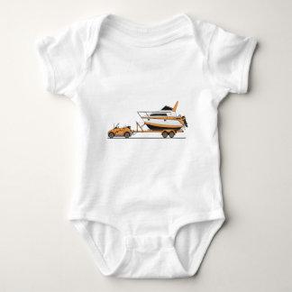 Eco Car Power Boat Baby Bodysuit