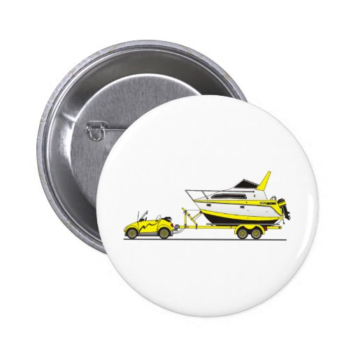 Eco Car Power Boat Button