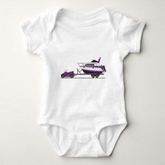 Eco Car Power Boat Infant Creeper