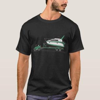 Eco Car Power Boat T-Shirt
