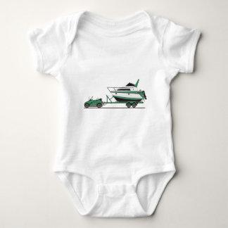 Eco Car Power Boat T Shirt