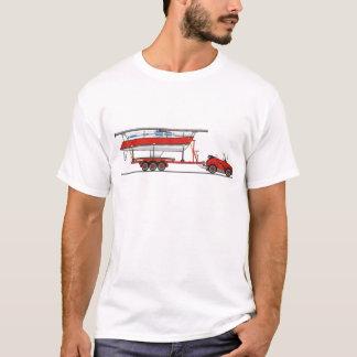 Eco Car Sail Boat T-Shirt