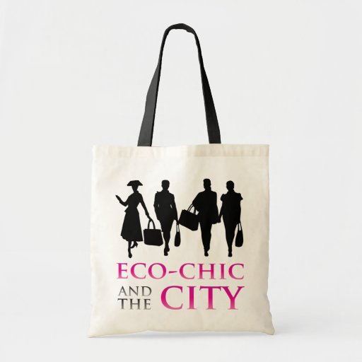 Eco-Chic and the City Dark Tote Bags