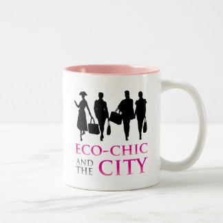 Eco - Chic and the City Two-Tone Coffee Mug