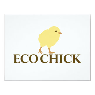 ECO CHICK CARD