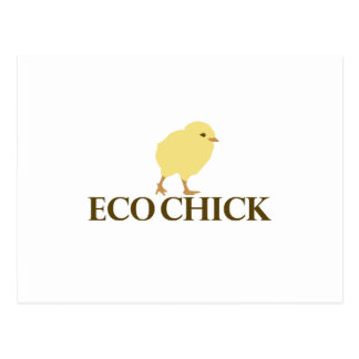 ECO CHICK POST CARD