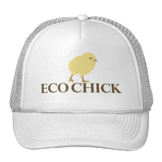 ECO CHICK TRUCKER HAT