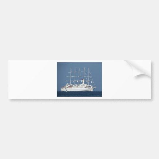 Eco Cruise Bumper Sticker