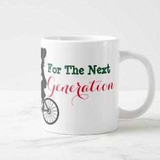 Eco Day Saving The Environment Giant Coffee Mug