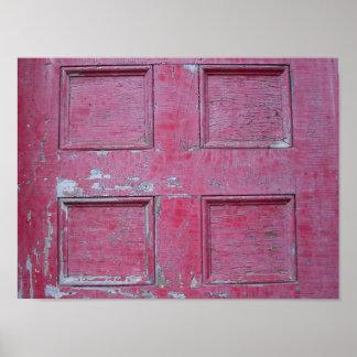 Eco de la cañada - puertas rotas póster