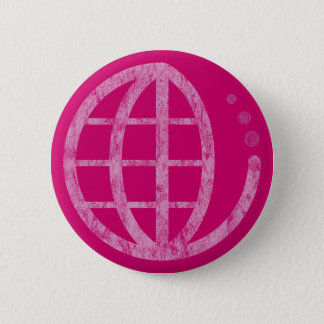 eco earth : mother earth pinback button
