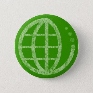 eco earth pinback button
