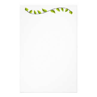 Eco Fantasy Lawn Care Personalized Stationery