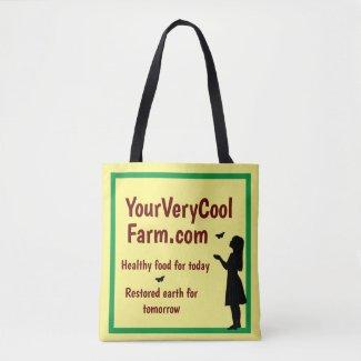 Eco Farm Promotion, Your Farm's Url Tote Bag