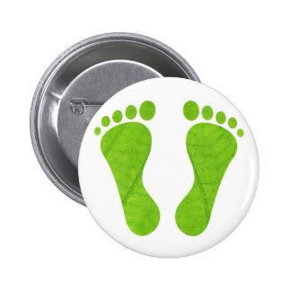 Eco footprints pin