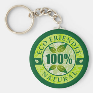 Eco Friendly 100% Natural Keychain