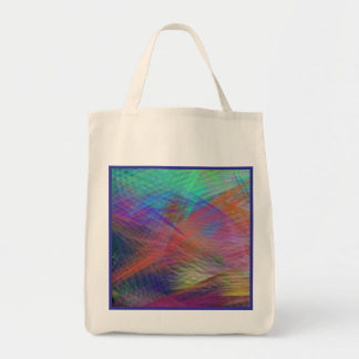 Eco-Friendly Azure Mountain Majesty Color Reusable Tote Bag