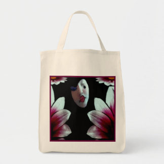 Eco-Friendly Birth of a Harlequin Reusable Grocery Tote Bag