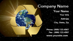 Eco gifts on zazzle eco friendly business card reheart Images